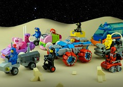 Febrovery 2020 Day 15 (TFDesigns!) Tags: lego rover febrovery traffic jam space classic kepler van allen vehicle
