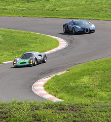 Happy Laps - Luddenham Raceway 2020-34 (andrew edgar .......) Tags: luddenham raceway bugatti veyron mclaren porsche drift laps sydney aystralia haltech sunshine green track