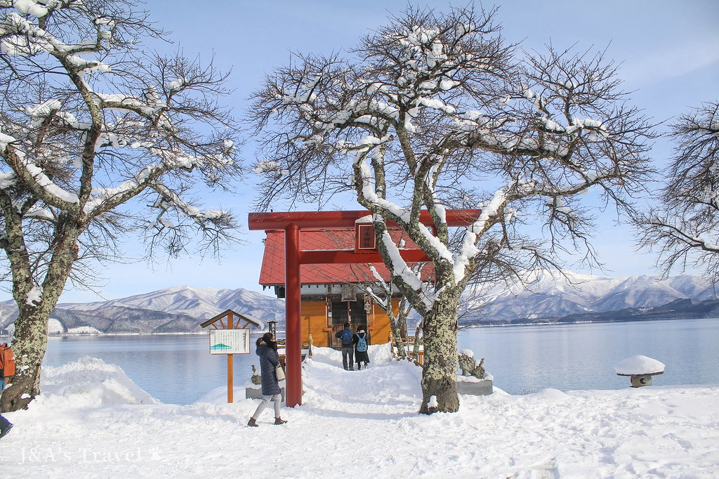 【日本東北秋田景點】田澤湖 日本最深、高透明度湖泊,有日本貝加爾湖美譽!含交通介紹、田澤湖一周線時刻表 @J&A的旅行