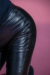 Nahkahousut (www.ilkkajukarainen.fi) Tags: trausers panths leather nahka housut pink suomi finland finlande eu europa scandinavia happy life line photography fotography studio