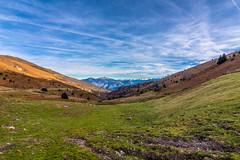 Panorama sur les Pyrénées (Kilian ALL) Tags: ariege pyrenees montagne mountain tabe pic saintbarthelemy saint barthelemy col de port panorama hdr sky ciel blue bleu