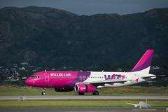 Wizz - HA-LPS - A320-200 (Aviation & Maritime) Tags: halps wizz wizzair airbus a320 airbus320200 a320200 airbus320 bgo enbr flesland bergenairportflesland bergenlufthavnflesland bergen norway