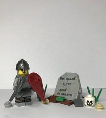 LEGO russian medieval warrior (mrunknown4) Tags: lego warrior medieval russian knight castle
