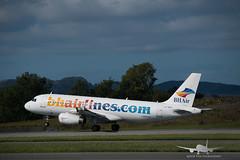 BH Air - LZ-BHG - A320-200 (Aviation & Maritime) Tags: bhair balkanholidays balkanholidaysair airbus a320 airbus320200 a320200 airbus320 bgo enbr flesland bergenairportflesland bergenlufthavnflesland bergen norway lzbhg