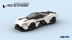 Aston Martin Valkyrie -INSTRUCTIONS- (Rolling bricks) Tags: lego speed champions speedchampions car legocar sportscar racingcar racecar instructions supercar hypercar 6studs 6wide minifig minifigure city moc legomoc