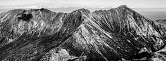 Photo of Arran - the Goat Fell ridge from Cir Mho´r