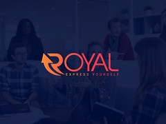 Royal (studiokingportfolio) Tags: minimalist logof lat professional business logo brand identity design modern flat minimal luxury creative management consulting financial wealth advisor iconic vector crafted custom hand drawn enterprise