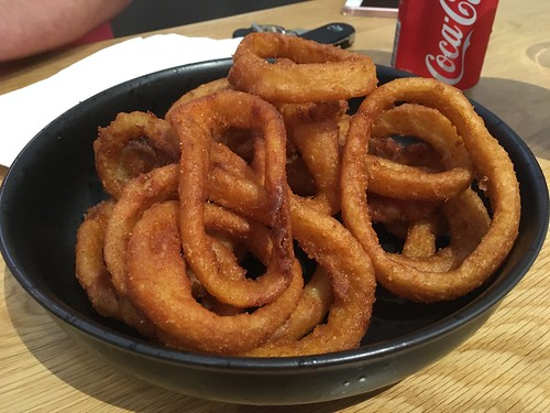 Bayside Burgers - Thumbs-Up to Onion Rings