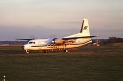 D-AISY F27 Ratioflug CVT 24-10-1997 (cvtperson) Tags: daisy f27600 ratioflug coventry cvt egbe
