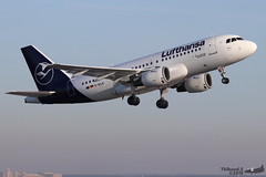 Airbus A319 -114 LUFTHANSA D-AILN 700 Francfort décembre 2019 (Thibaud.S.) Tags: airbus a319 114 lufthansa dailn 700 francfort décembre 2019