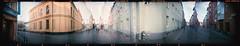 Ostindiefararegatan Malmö (Holga 120SF) (mmartinsson) Tags: hospitalsgata västraskolan tegelgårdsgatan ostindiefararegatan panorama film incamera gamlastaden portra negative holga120sf malmö gamlaväster scan mediumformat epsonperfectionv700 120 analoguephotography holga kodak skånelän sverige