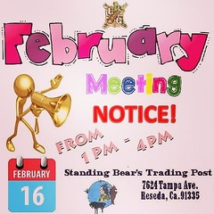 February is here and our meeting is Sunday February 16th from 1PM-4PM at @standingbears 7624 Tampa Avenue, Reseda, CA. 91335. We will be having an open table this meeting so bring a project and your questions if you have any. Open table will start after t (standingbears) Tags: instagram lets talk leather leathercraft supplies think outside big box shop small leatherwork supply standing bears trading post