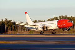LN-LNF Boeing 787-8 Dreamliner Norwegian Long Haul (Andreas Eriksson - VstPic) Tags: from long bangkok norwegian boeing haul 7206 dreamliner 7878 norstar lnlnf