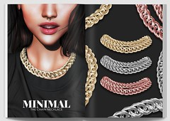 MINIMAL - The Chain Necklace (MINIMAL Store) Tags: minimal chain necklace jewelry accessories saturday sale gallery