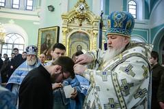 16 февраля 2020, Митрополит Кирилл совершил хиротесию во чтеца студента семинарии