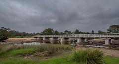 Crossing the Murrah (OzzRod) Tags: pentax k1 hdpentaxdfa1530mmf28 landscape murrah bridge clouds greening nswfarsouthcoast
