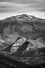 Roc de Sédour et Pic de Saint-Barthélemy (Kilian ALL) Tags: ariege pyrenees montagne mountain col de port roc sédour tarascon tabe noir et blanc nb black white bw