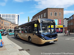 SN67XDE 26212 Stagecoach Gold Midlands in Coventry (Nuneaton777 Bus Photos) Tags: stagecoach gold midlands adl enviro 200mmc sn67xde 26212 coventry