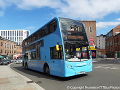 BX61LNJ 4841 National Express Coventry in Coventry (Nuneaton777 Bus Photos) Tags: national express adl enviro 400 bx61lnj 4841 coventry