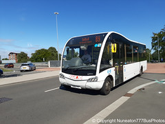 YJ62FKT 20884 Diamond in Coventry (Nuneaton777 Bus Photos) Tags: diamond rotala optare solosr yj62fkt 20884 coventry