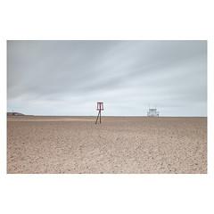Lifeguard (John Pettigrew) Tags: lifeguard lines tamron d750 nikon storm mundane documentary beach imanoot banal topographics ordinary ciara deserted gorleston hut angles johnpettigrew seaside