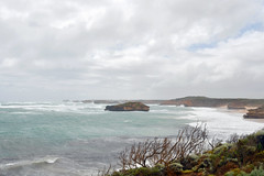 Bay of Martyrs | Peterborough, Victoria (Ping Timeout) Tags: australia oz aussie november 2019 vacation holiday victoria vic port campbell great ocean drive south coast coastline road national park bay martyrs cliff islands shore weather cloud storm wind strong view scene afternoon skies sky outdoor peterborough water southern limestone geology formation vegetation bayofmartyrs