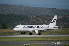 Finnair - OH-LXH - A320-200 (Aviation & Maritime) Tags: ohlxh finnair airbus a320 airbus320200 a320200 airbus320 bgo enbr flesland bergenairportflesland bergenlufthavnflesland bergen norway
