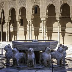 Patio de los Liones (kong niffe) Tags: patiodelosliones alhambra granada españa spain spania palace moors moorish muslim islam