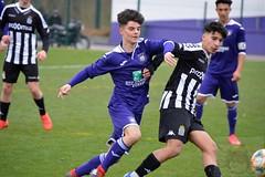 Season 2019-2020: U16 Anderlecht - Charleroi