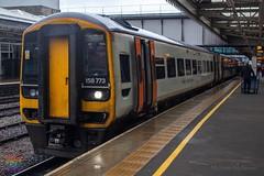 East Midlands Railway 158773 (Mike McNiven) Tags: eastmidlandsrailway emr midlands nottingham norwich sheffield liverpool limestreet sprinter expresssprinter dmu diesel mulitpleunit