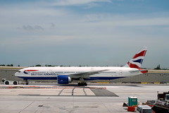 British Airways Boeing 777-236ER G-VIIO at Fort Lauderdale Airport (mattk1979) Tags: fortlauderdale international airport runway unitedstatesofamerica usa britishairways boeing 777236er