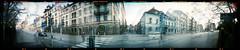 Slottsgatan-Hospitalsgatan Malmö (Holga 120 SF) (mmartinsson) Tags: mediumformat panorama film incamera gamlastaden portra negative holga120sf malmö gamlaväster scan hospitalsgatan camera analoguephotography epsonperfectionv700 slottsgatan 120 holga kodak skånelän sverige