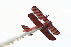 Boeing PT-17 Stearman (Nigel Musgrove-3 million views-thank you!) Tags: duxford air festival iwm cambridgeshire england 26 may 2019 aerosuperbatics wingwalkers airfield gloucestershire boeing pt17 stearman girl gymnastics fit performance biplane rendcomb
