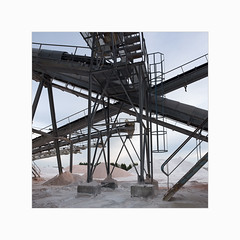 Silmer III (Frans van Hoogstraten) Tags: silmer quarry mine pebbles stone cayeuxsurmer france normandy conveyor assemblyline