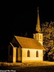 Holzkirche Elend bei Nacht 012020 01 (U. Heinze) Tags: harz niedersachsen germany deutschland norddeutschland olympus omd em1markii 12100mm himmel sky architektur gebäude