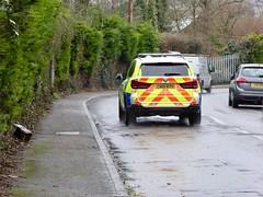 Police BMW, Avon Terrace, Pontnewydd, Cwmbran 16 December 2020 (Cold War Warrior) Tags: policecar gwentpolice bmw police pontnewydd cwmbran emergencyservices