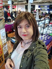 Another Bargain Hunt (Joanne (Hay Llamas!)) Tags: transgender transwoman tg brunette tgirl cute uk brit british casual