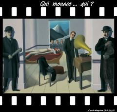 Assassin menacé (jeanraoulb) Tags: artsmagrittepeinture arts magritte peinture