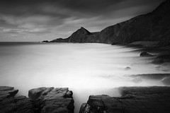 w h i t e w a s h (Mark Leader) Tags: atlantic art beach boulders blackandwhite coast clouds coastal dynamic devon dramatic exposure filter foreground hartland hills longexposure landscape le monochrome misty moody ndfilter nature northdevon ocean overcast outdoor rocks sea shore seascape tide texture water