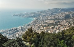 Holy (armensimonian2) Tags: jounieh lebanon hill holy view