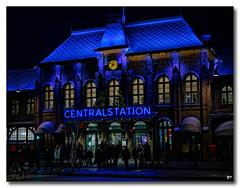 Centralstation (patrick.tafani) Tags: centralstation göteborg sweden sverige suede suède bleu bleue blue station gare central centrale gothenburg