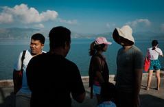 Ranong's Port, Ranong (villy7335022) Tags: sea seaside port myanmar burma ranong sky cloud people man woman men women child children bag red shorts tourism tour tourist tourists thailand thai southern tsunami asia asian asean