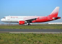 "VQ-BFM, Airbus A320-214, c/n 1379, Rossiya - Russian Airlines, ""Tver / Тверь"", CDG/LFPG 2020-02-07, on taxiway Bravo-Loop. (alaindurandpatrick) Tags: vqbfm cn1379 a320 a320200 a320214 airbus airbusa320 airbusa320200 airbusa320214 minibus jetliners airliners airlines fv sdm rossiya rossiyarussianairlines airports cdg lfpg parisroissycdg aviationphotography taxishots"