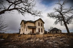 (CTfotomagik) Tags: abandoned forgotten decay haunted vacant neglected rural northern colorado weld county nikon weathered lonely house home