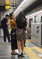 D7K_3575_ep (Eric.Parker) Tags: tokyo 2016 japan subway mother daughter