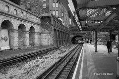 The old station (Dirk Rein) Tags: nikond7100 london underground metrostation nothing hill