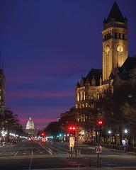 Pennsylvania Ave Sunrise (Mark Alan Andre) Tags: dc washington washingtondc avenue capitol freedom markalanandre pennsylvania plaza sunrise