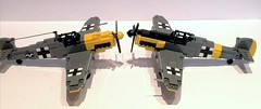Messerschmitt bf-109 (Veynom) Tags: lego brickmania wwii messerschmitt bf109 aircraft germanplane