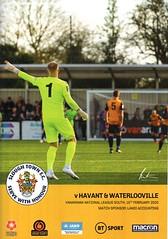 Slough Town v Havant & Waterlooville (Havant & Waterlooville) Tags: havant waterlooville slough town national league south football programme