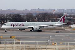 A7-ANK | Airbus A350-1041 | Qatar Airways (cv880m) Tags: newyork jfk kjfk kennedy johnfkennedy aviation airliner airline aircraft airplane jetliner airport spotting planespotting a7ank airbus a350 35x 3501000 3501041 qatar qatari qatarairways oryx doha